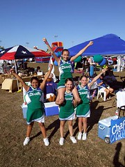 Cheerleaders @ Kyle Fair and Music Festival