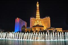 Paris-Las Vegas and the Fountains of Bellagio