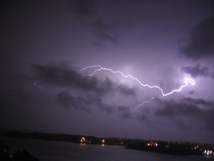 Lightning Storm in Valletta