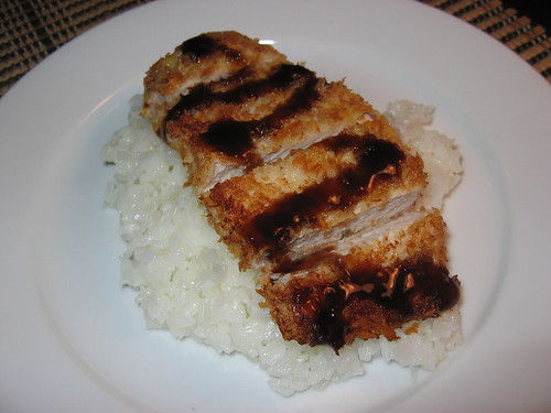 how to cook tonkatsu pork cutlet