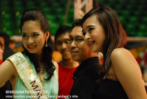 miss indonesia with braces (black dress)