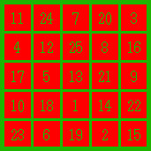 mars magic square