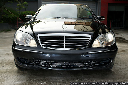 Just Detailed: Mercedes Benz S350