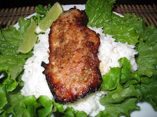 Panang Moo Yang (Curried Pork Chops)