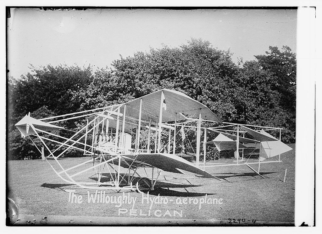 The Willoughby Hydro-aeroplane. Pelican.