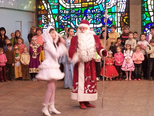 Did Moroz and his granddaughter the Snow Maiden