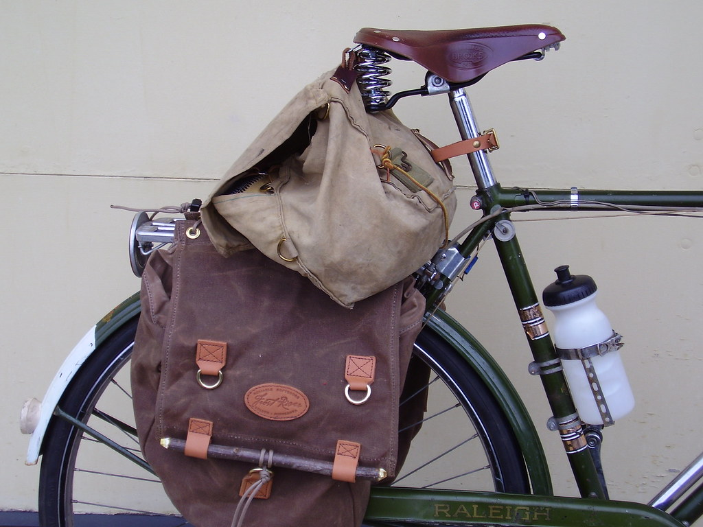 FR panniers and B67 saddle