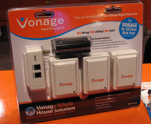 Vonage Power Line Connectors