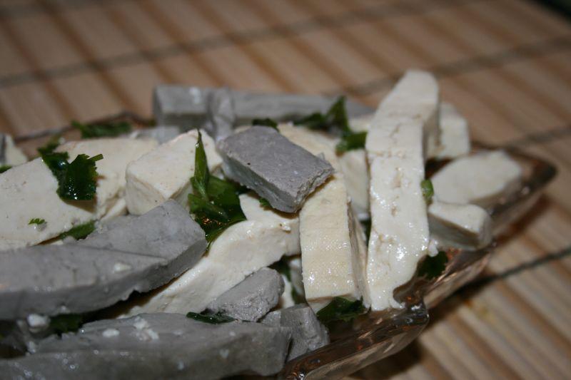 Tofu Cilantro Salad 6