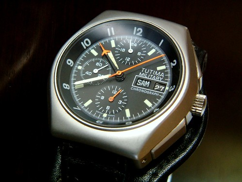 TUTIMA Military Chronograph a
