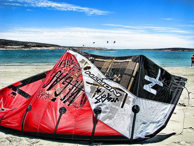 Resting kite