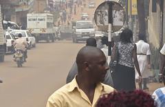 The dusty streets of Kampala