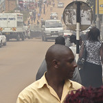 The dusty streets of Kampala