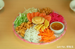 CNY Foods - Raw Fish Salad (cloudz.) Tags: toys chinesenewyear cny blythe cny08 cnyelements singaporehandmaderement mdmang