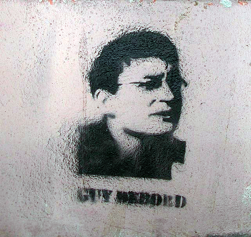 Guy Debord stencil [Lyon, France]
