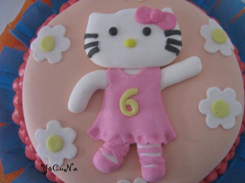Tarta Decorada Hello Kitty 1