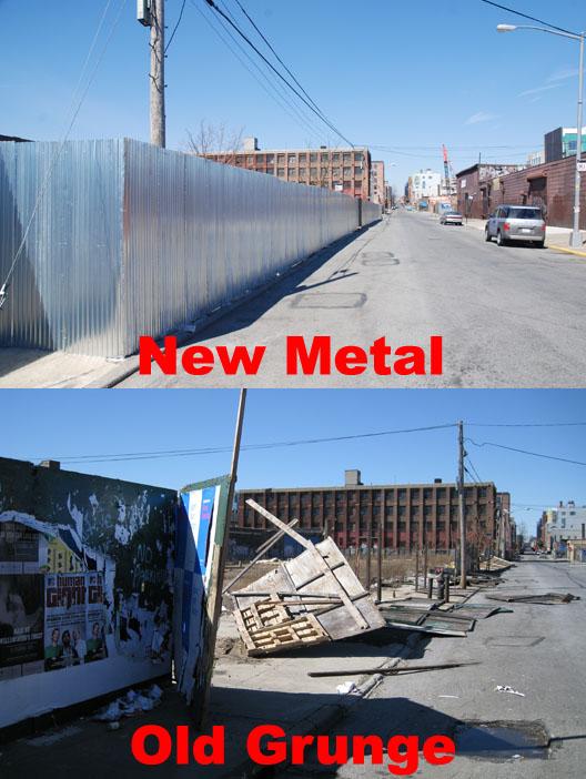 Metal-Grunge Fence