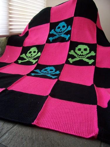 Pretty Punk Blanket Free Pattern The Running Yarn