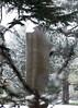 02 Large upright internal & external form2, 1981-2 (chericbaker) Tags: sculpture kewgardens snow kew moore henrymoore mooreatkew