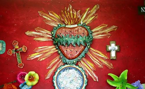 Sacred Heart, Crosses