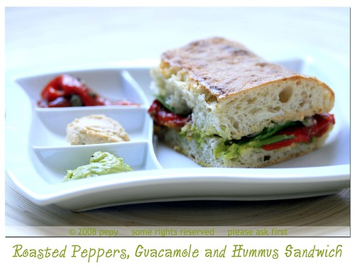 Roasted Red Peppers Sandwich 3