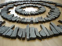 Midsummer Circles by Richard Long (ziad 1) Tags: sculpture long midsummer circles center richard nasher artisticexpression