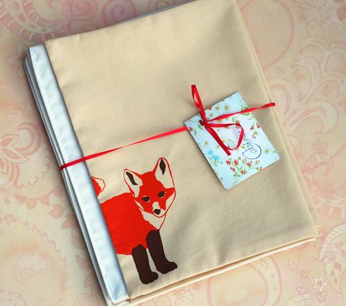 Foxy napkins!