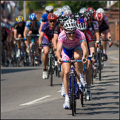 Leader of the Pack (Ally Mac) Tags: uk england bike sport race cycling cyclists fast bikes racing lincolnshire grandprix cycle lincoln 2008 08 adrenelinelincoln