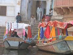 ferryboats (staticDynamic) Tags: india boat mathura yamunariver yamuna