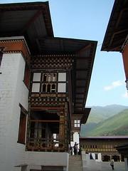 Bhutan-Thimbu-Tashichoe Dzong  45 (Rafael Gomez - http://micamara.es) Tags: del de bhutan viajes rey dzong thimphu trono bután tashichoe