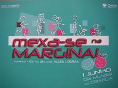 """Folheto do """"Mexa-se na Marginal"""" 2008"""