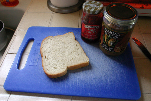 Bento Lunch Prep: Start with a sandwich