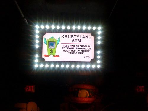 Krustyland ATM