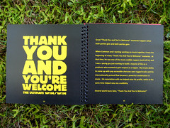Kanye West - Thank You and You're Welcome - Page 1 by Jeremy Watt