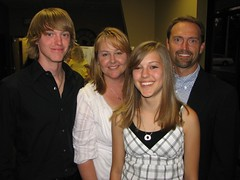 The Hertzlers at the Trace Academy Graduation