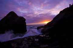 IMG_3747.jpg (sweber4507) Tags: sunset oregon coast waves dusk head devils crashing churn heceta