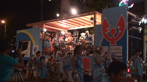 2008 8 11 よさこい祭り最終日 梅が辻商店街