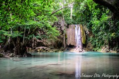 Erawan National Park (johannesotte84) Tags: water fall thai land erawan national park pool natural canon otte 600d travel holiday paradise