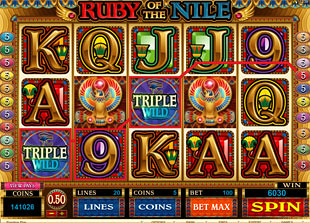 Ruby of the Nile slot game online review