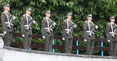 State visit to The Garden of Remembrance by Her Majesty Queen Elizabeth II and His Royal Highness The Duke of Edinburgh
