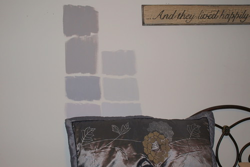 please help choose gray paint for bedroom