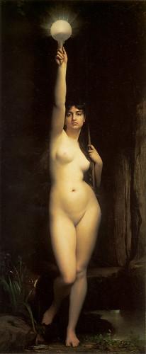'La Vérité' Jules-Joseph Lefebvre, 1870