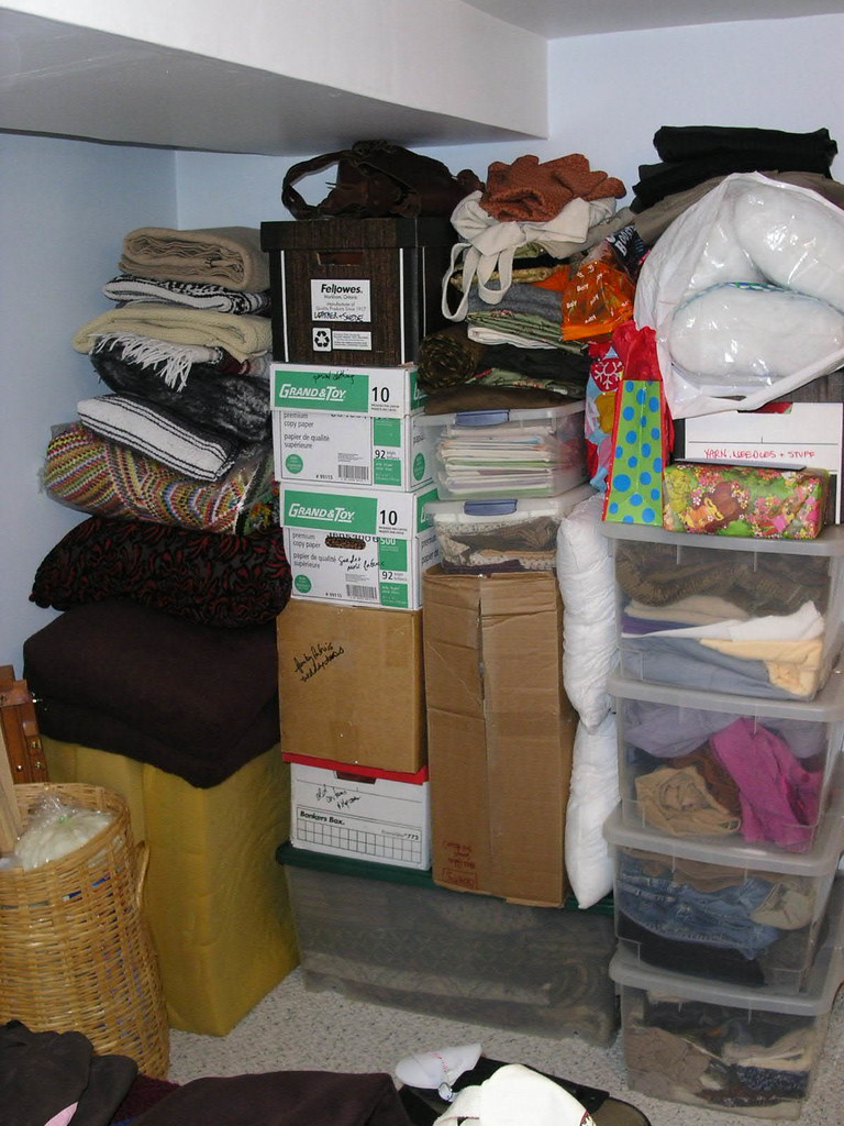 The Fabric Stash -Or Packrat Paradise