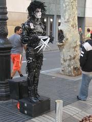 Edward Scissorhands (colindb) Tags: barcelona spain lasramblas