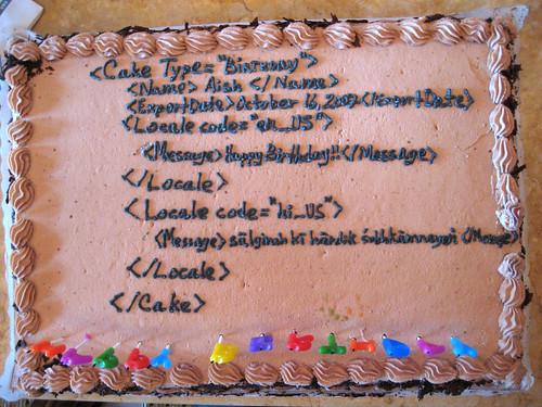 Coders Cake