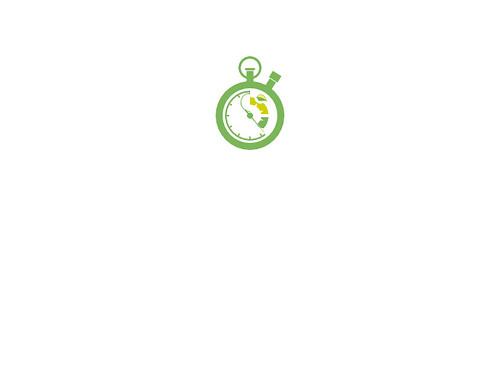 L'écran de chargement de Fluxbuntu