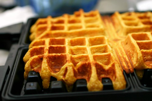 pumpkin waffles | smitten kitchen