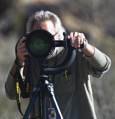 Pro Nikon Photographer at Morro Rock 04 Dec 2007