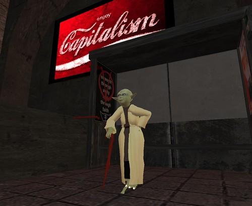 Master Yoda visits the vampires