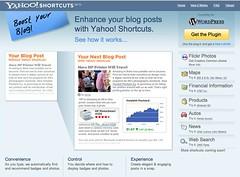 Yahoo! Shortcuts